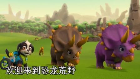 汪汪队:乐乐太厉害了!会说恐龙话