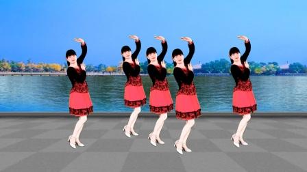 广场舞《我要爱你一辈子》甜美32步踩点舞,简单欢快轻松跳