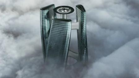 迪拜再现可以旋转的摩天大楼,像风车一样,每个房间都能晒到太阳