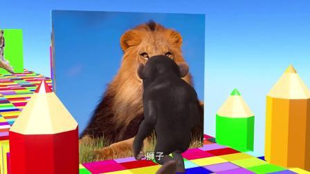 小猴子游戏大闯关,中间会遇到什么困难呢?一起帮帮小猴子吧!