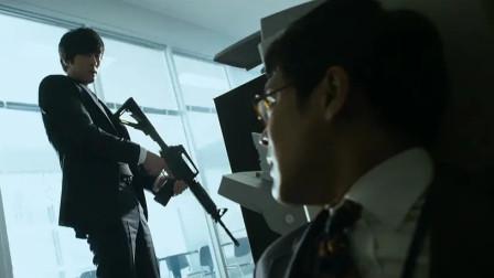 一栋大楼里全是杀手,各种武器应有尽有,枪战名场面太猛了