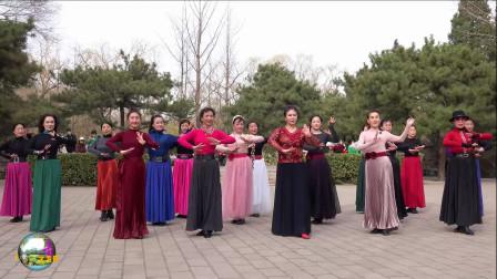玲珑广场舞,正月初十玲珑秀,勇于创新,不断进取!