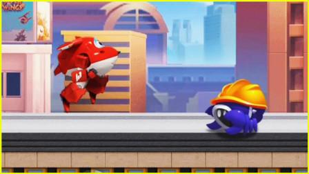 【波特】超级飞侠总动员:乐迪零失误送快递,客人会满意吗?