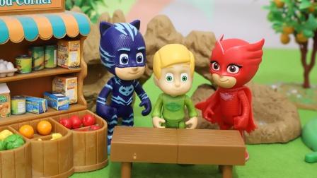 睡衣小英雄:不能变身的飞壁侠玩具故事