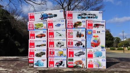 20辆mini卡通汽车玩具拆盒
