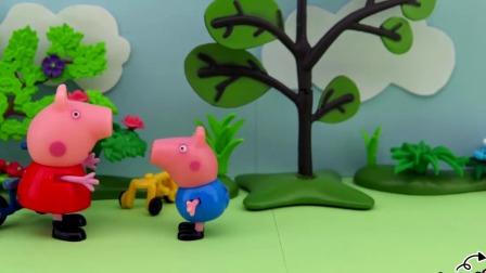 什么东西一直追着猪爸爸?小猪佩奇和乔治躲在里面吗?