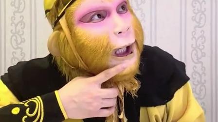 童年趣事:好大的一个枣,猴哥嘴馋了