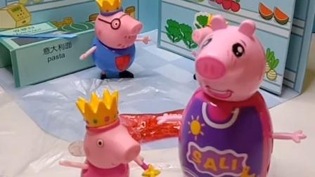 猪爸爸偷吃了佩奇的粘牙糖,还诬陷了乔治