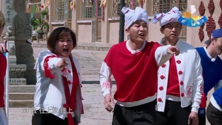 奔跑吧兄弟:王嘉尔玩游戏干扰别的玩家,最后自己也绕晕了