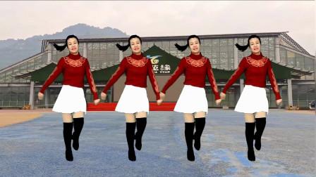 最新流行神曲广场舞《红唇》32步, 舞蹈动感时尚, 好听好看