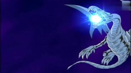 游戏王:黑暗大邪神手撕青眼白龙