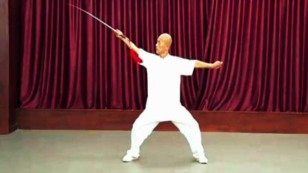 太极剑法基础招式演示教学