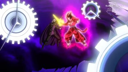 龙珠英雄第32集,托娃变身魔神,弗和超4贝吉特被时之迷宫困住