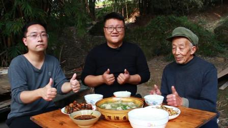 """元宵节,阿米家来客了,秘制传统美食""""圆子汤""""鲜嫩滑爽,解馋"""