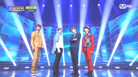 210225 SHINee_MCountdown现场版《Heart Attack》