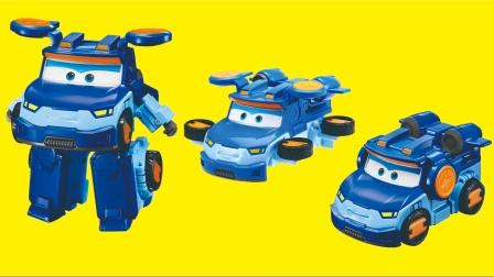 芭比公主分享变形机器人玩具,超级飞侠新成员雷克开箱