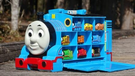 托马斯收纳箱寻找小火车和汽车伙伴