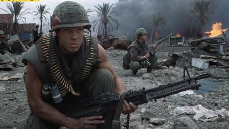 这就是美军在越南干的事,毫无人性,如今越南人真没骨气!战争片