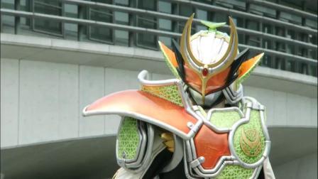 假面骑士:巴隆vs斩月,戒斗太聪明了,先破坏斩月的腰带