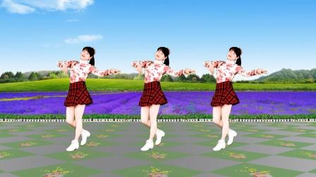 广场舞《可可托海的牧羊人》热曲美舞,时尚欢快