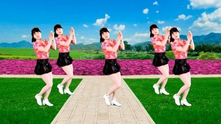 广场舞《两个世界》64步,歌嗨舞也美,分享给你