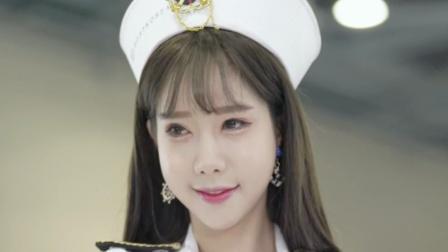 美女模特韩民英# 竞技国际船秀