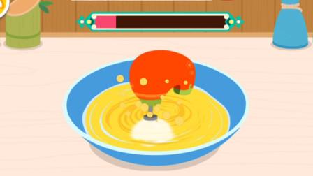 宝宝美食 制作鲷鱼烧 亲子游戏
