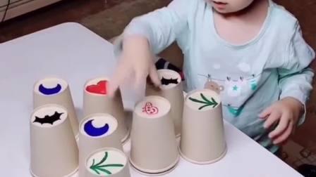 锻炼孩子反应能力,和孩子一起比赛互动