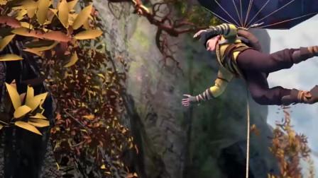 时江的计划三,还做了一个降落伞