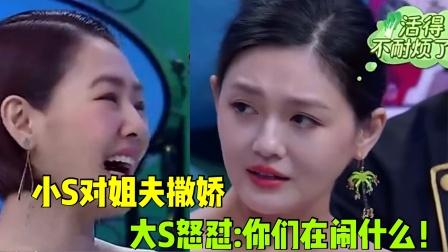小S对姐夫汪小菲撒娇求保护,大S怒怼:你们在闹什么!