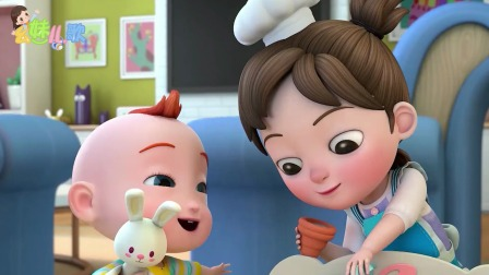 超级宝贝JOJO:东边的太阳微微笑,快乐的一天开始了