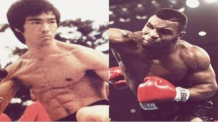 还说李小龙打不过泰森?看完两人打沙袋训练对比,差距一目了然