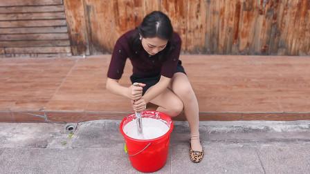 几十年来无法忘怀的传统味道,表嫂一天做十几锅,像牡丹一样漂亮