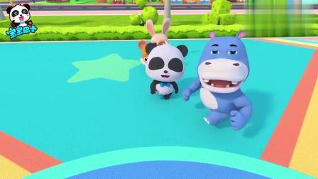少儿益智宝宝巴士动画片:排队玩游戏