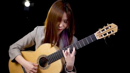 优美典雅!古典吉他演奏圣桑《天鹅》