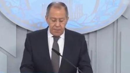 """俄外长:核大国应重申""""永不发动核战争""""!"""
