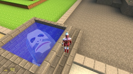 银河发现有个怪兽藏在水井里,要怎么办啊?