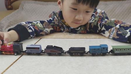 复古蒸汽火车来了,亲子互动游戏