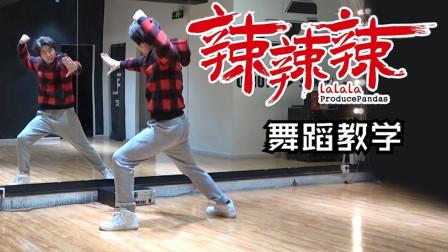 【南舞团】 辣辣辣 熊猫堂 青春有你3 舞蹈教学 分解教程(上)