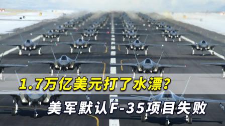 1.7万亿美元打了水漂?美军默认F-35项目失败,美网友怒了