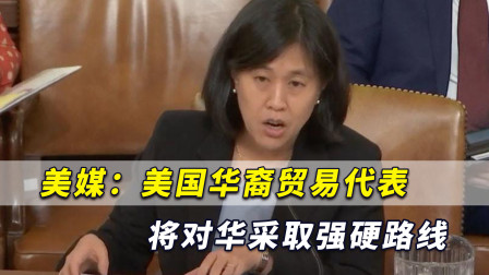 自夸对付中国有经验!美媒:美国华裔贸易代表将对华采取强硬路线