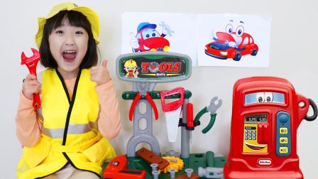 【儿童歌曲】汪汪队立大功的车出故障了,娜娜修理工来帮助你!颜色英语儿歌!