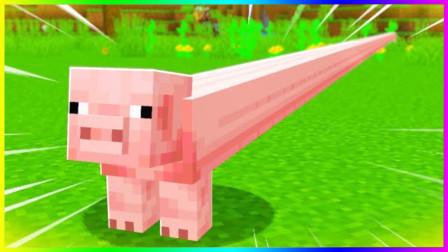 """我的世界:这样的猪可以""""吃""""几顿!"""