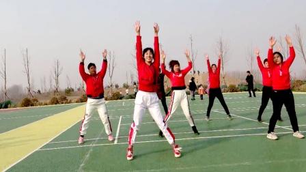 健身操《我的那个亲亲呀》活动全身更舒服,减多余赘肉