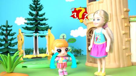 芭比与爱哭的亿奇娃娃