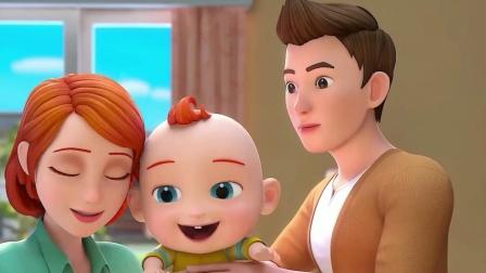 超级宝贝JOJO:乖宝宝爱笑不爱哭,真的好棒
