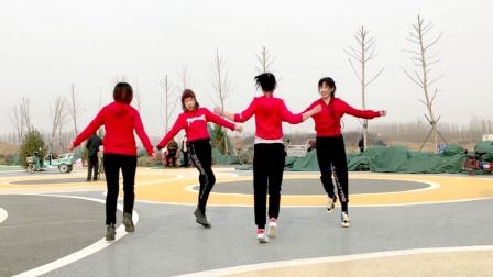 双人对跳16步《你跳舞的样子是最美》超火,弹跳减肥