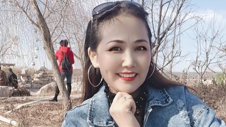 好心情蓝蓝广场舞原创32步【最亲的人正背面】2021年春晚最火歌曲附教学