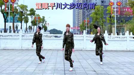 原创跳跳乐晓敏广场舞《我最亲的人》