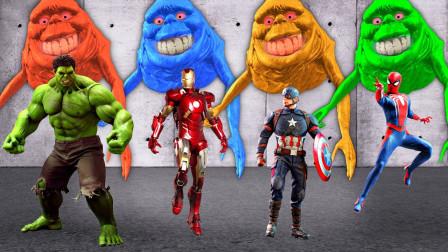 超级英雄益智早教游戏:蜘蛛侠和绿巨人遇到什么问题?可是美国队长和钢铁侠可以解决吗?